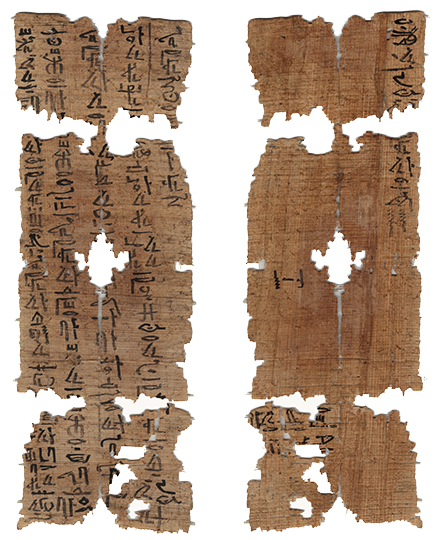 photograph of Egyptian papyrus