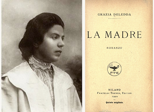 Portrait of the author and title page for book