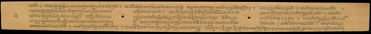 image of palm leaf manuscript