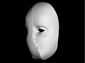 Shows a mask that seems convex but is actually concave